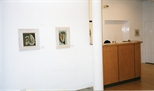 Photograph: Glasgow Print Studio Gallery during the exhibition 'James McDonald - Paintings' (1998)