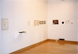 Photograph: Various works from the exhibition 'The Drawing Show' in Glasgow Print Studio Gallery (1998)