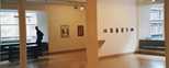 Photograph: Glasgow Print Studio Gallery during the exhibition 'The Drawing Show' (1998)