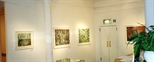 Photograph: Several prints from the exhibition 'Ral Veroni - Orpheus' Little Journey' in Glasgow Print Studio Gallery (1999)