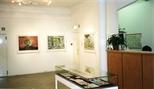 Photograph: Ral Veroni's exhibition 'Orpheus' Little Journey' in Glasgow Print Studio Gallery (1999)