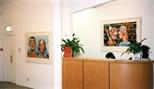 Photograph: Glasgow Print Studio during the exhibition 'Mark Hampson - Prints' (1998)