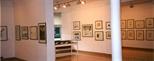 Photograph: The exhibition 'Elizabeth Blackadder - Printmaker' in Glasgow Print Studio Gallery (1998)
