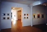 Photograph: Various prints from the exhibition 'Will Maw - Modern Dreams' in Glasgow Print Studio Gallery (1999)