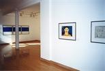 Photograph: Glasgow Print Studio Gallery during the exhibition 'Habitat' (1999)