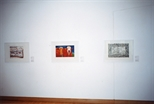 Photograph: 3 prints from the exhibition 'Habitat' in Glasgow Print Studio Gallery (1999)