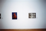 Photograph: 2 prints from the exhibition 'Habitat' at Glasgow Print Studio Gallery (1999)