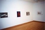 Photograph: Several prints from the exhibition 'Habitat' in Glasgow Print Studio Gallery (1999)
