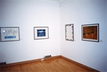 Photograph: The exhibition 'Habitat' at Glasgow Print Studio Gallery (1999)