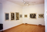 Photograph: The exhibition 'Janka Malkowska - 1912-1997' in Glasgow Print Studio Gallery (2000)