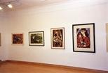 Photograph: 4 prints from the exhibition 'Janka Malkowska - 1912-1997' in Glasgow Print Studio (2000)