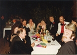 Photograph: Group at Table at The Loveliest Night of the Year