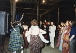 Photograph: Group and Piper at The Loveliest Night of the Year