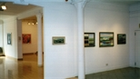 Photograph: Glasgow Print Studio Gallery during the exhibitions 'Louise Annand - Paintings' and 'Andy Warhol - Screenprints' (2001)