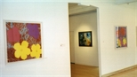 Photograph: The exhibition 'Andy Warhol - Screenprints' in Glasgow Print Studio Gallery (2001)