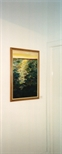 Photograph: One painting from the exhibition 'Louise Annand - Paintings' in Glasgow Print Studio Gallery (2001)