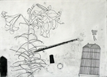 Still Life with Lily and Flute