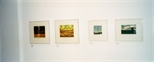 Photograph: 4 prints from the exhibition 'Black Pool - The Graphic Studio, Dublin' in Glasgow Print Studio Gallery (2001)