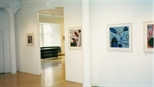 Photograph: Glasgow Print Studio Gallery during the exhibition 'Hetty Haxworth - Forms and Colour' (2001)