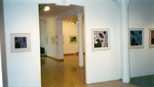 Photograph: Both the exhibition 'Hetty Haxworth - Forms and Colour' and the exhibition 'Black Pool - The Graphic Studio, Dublin' in Glasgow Print Studio Gallery (2001)
