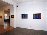 Photograph: The exhibition 'Scott Campbell - Colourworks' in Glasgow Print Studio Gallery (2002)
