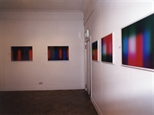 Photograph: Various prints from the exhibition 'Scott Campbell - Colourworks' in Glasgow Print Studio Gallery (2002)