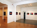 Photograph: Both exhibitions 'Scott Campbell - Colourworks' and 'James McDonald - Reflections' in Glasgow Print Studio Gallery (2002)