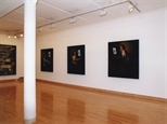 Photograph: 4 large paintings from the exhibition 'James McDonald - Reflections' in Glasgow Print Studio Gallery (2002)