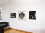 Photograph: Glasgow Print Studio Gallery during the exhibition 'James McDonald - Reflections' (2002)