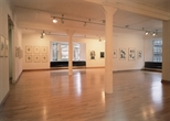 Photograph: The exhibition 'CEL Scotland- Contemporary Editions Limited' in Glasgow Print Studio (2005)