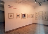 Photograph: Several works from the exhibition 'CEL Scotland - Contemporary Editions Limited' in Glasgow Print Studio Gallery (2005)