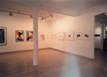 Photograph: Various works from the exhibition 'James McDonald - Reflections' in Glasgow Print Studio Gallery (2002)