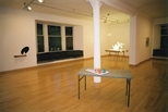 Photograph: Glasgow Print Studio Gallery during the exhibition 'Prisms & Shadows' (2005)