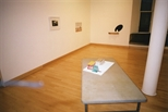 Photograph: Several works from the exhibition 'Prisms & Shadows' in Glasgow Print Studio (2005)