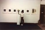 Photograph: Don Emery Exhibition (1984)