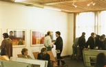 Photograph: Opening of Barbara Rae Exhibition (1987)