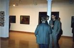 Photograph: Guests at opening of Barbara Rae Exhibition (1992)