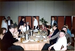 Photograph: Table of Guests at The Loveliest Night of the Year
