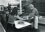 Photograph: Printing Theatre Posters