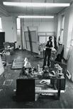 Photograph:Brian Kelly in his Ingram Street Studio