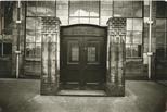 Photograph: Infants entrance to Scotland Street School