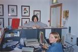 Photograph: Gallery Reception Desk