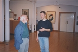 Photograph: Gallery during Crossroads Exhibition