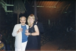 Photograph: Doreen Logan and Chris Carrell at The Loveliest Night of the Year (1987)