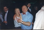 Photograph: Christa and Paul Dowds at The Loveliest Night of the Year (1987)