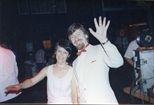 Photograph: Elaine and Harry Magee at The Loveliest Night of the Year (1987)