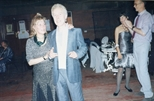 Photograph: Jacki Parry and John Taylor at The Loveliest Night of the Year (1987)