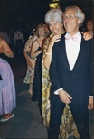 Photograph: Pat and Cyril Gerber at The Loveliest Night of the Year (1987)