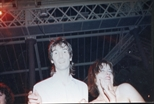 Photograph: Mark and Linda Baines at The Loveliest Night of the Year (1987)