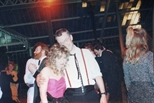 Photograph: Ellie Lamb and Malcolm Gray at The Loveliest Night of the Year (1987)